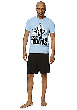 Star Wars Jersey Shorts Loungewear Set - Blue