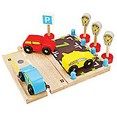 Bigjigs Rail Parking Spaces
