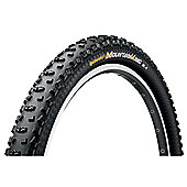 Continental Mountain King II Folding Tyre in Black - 26 x 2.40