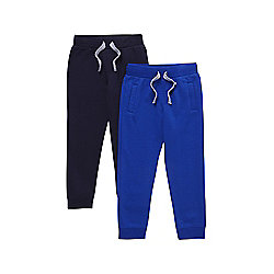 F&F 2 Pack of Joggers years 02 - 03 Blue