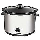 Morphy Richards 461006 5.5L Slow Cooker - Silver