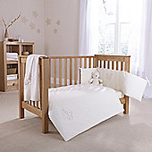 Clair De Lune Starburst 2 Piece Bedding Set - Cream