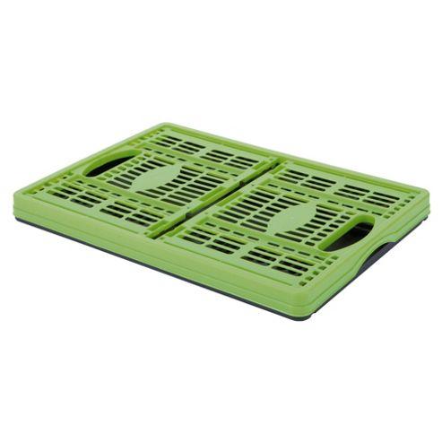 Tontarelli 32L Folding Crate Lime