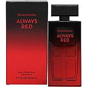 Elizabeth Arden Always Red Eau de Toilette (EDT) 50ml Spray For Women