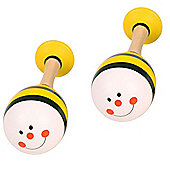 Bigjigs Toys Animal Maracas (One Pair - Bee)