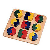 Pintoy Shape Puzzle Board