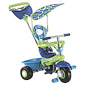 Smart-Trike Fresh 3-in-1 Tricycle, Green/Blue