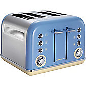 Morphy Richards 242007 4 Slice Accents Toaster - Blue