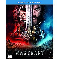 Warcraft 2D + 3D Blu-ray