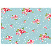 Tesco English Rose Set of 4 Placemats and Coasters
