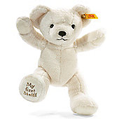 My First Steiff 24cm Cream Teddy bear Gift Boxed