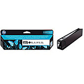 HP 970 Black Ink Cartridge (Yield 3000 Pages) for OfficeJet Pro X Series Printers