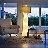 Lucente Up Indoor IP20 Floor Lamp in Ivory - Cream