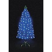 7ft Blue Snowbright Multifunction LED Tree