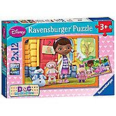 Disney Doc Mcstuffins 2x12 Piece Jigsaw Puzzle Game