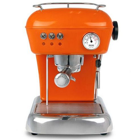 Ascaso Dream Versatile Espresso Coffee Machine in Mandarin Orange