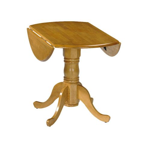 Julian Bowen Dundee Dining Table in Honey Pine - 92cm