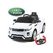 Range Rover Evoque - 12V Licensed Electric Ride On Car - White