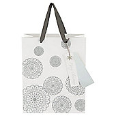 TESCO MEDIUM BAG SILVER DOILEY