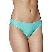 F&F Ruched Back Bikini Briefs - Jade
