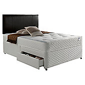 Silentnight Miracoil Comfort Ortho Tuft  2 Drawer Divan - Super king (6ft)