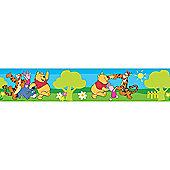 Disney Pooh Picnic Wall Border Roll