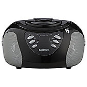 Goodmans GPS02BLK CD AM/FM Radio Boombox Black