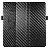 Orzly Multifunctional Stand & Type Case for Nexus 9 Tablet - Carbon Fibre Black