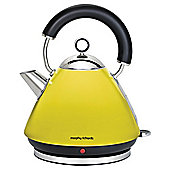 Morphy Richards Accents Traditional Pyramid Kettle - Yellow