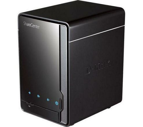 D-Link ShareCenter Pulse (0TB) 2-Bay SATA II Network Storage Enclosure