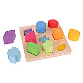 Bigjigs Toys BB092 First Shapes Sorter