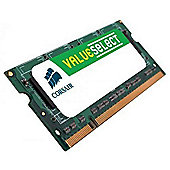 Corsair Value Select SODIMM 1GB PC2-5300 667MHz DDR2 SDRAM Notebook Memory Module