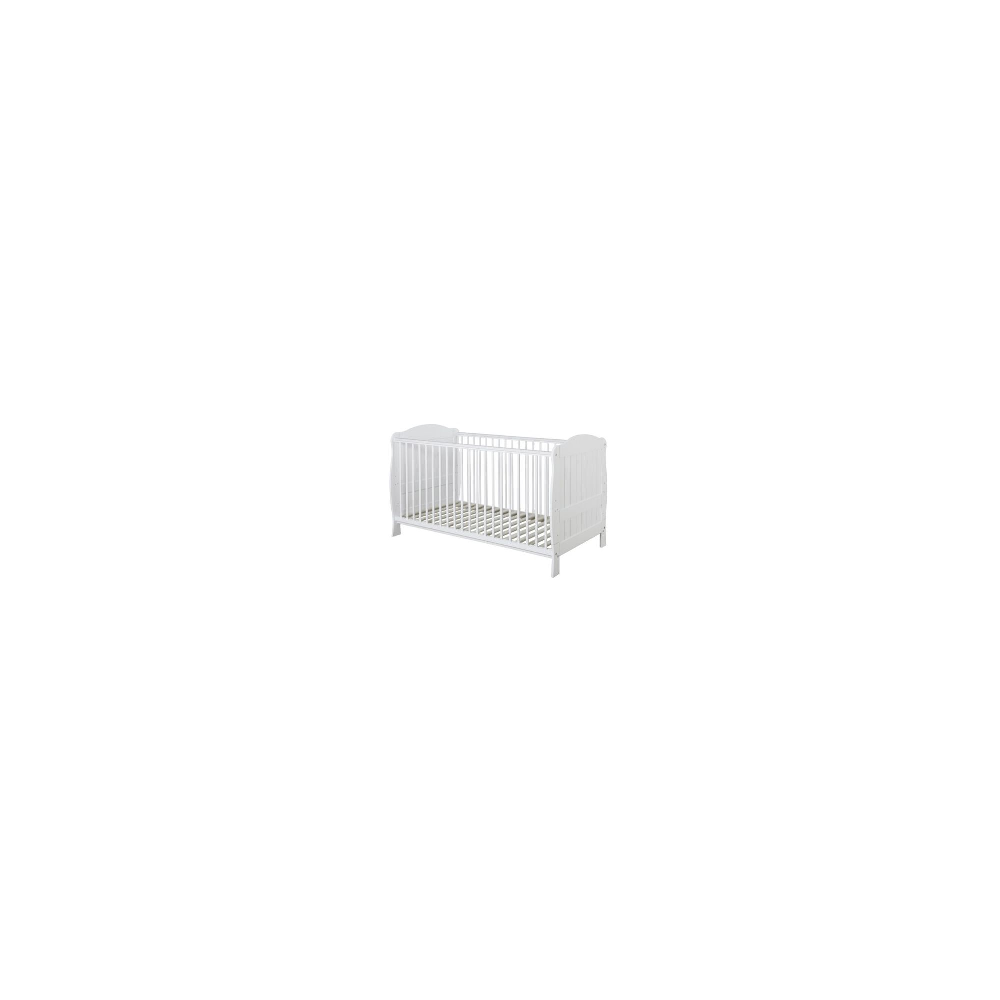 Baby Elegance Blanco Cot Bed at Tesco Direct