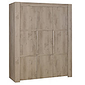 Gami Timber 3 Door Wardrobe