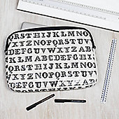 Alphabet Laptop Bag