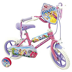 "Disney Princess 12"" Kids' Bike with Stabilisers"