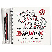 KLUTZ DRAWING BOOK  PENCILS