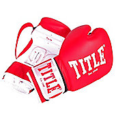 Title Sparring Boxing Gloves - Red