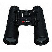 Braun Pocket Size 10x25 Binoculars Black