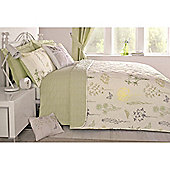 Dreams n Drapes Botanique Green Bedspread - 229x195cm