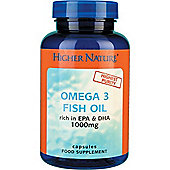 Higher Nature Omega 3 Fish Oil 1000mg 180 Capsules