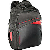 V7 Edge Laptop Backpack (Black with Red Accents) for V7 17.3 inch Laptop