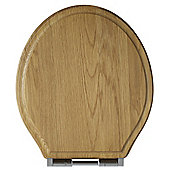 Tavistock Vitoria Soft Close Toilet Seat - Oak