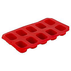 Tesco Ice Cube Tray Red