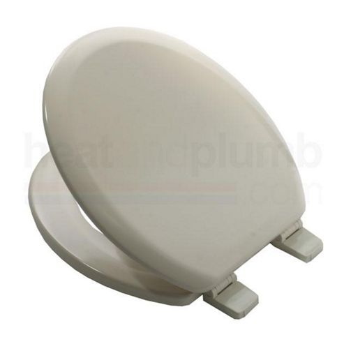 Buy Bemis 5000 INDIAN IVORY Coloured Moulded Wood Toilet Seat And Cover With