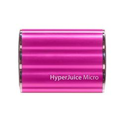 HyperJuice Micro 3600mAh External Battery for Apple iPad/iPhone/USB (Pink)