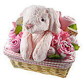 Deluxe Baby Girl Gift Flower Basket
