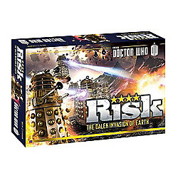 Hasbro - Risk - Doctor Who - The Dalek Invasion Of Earth - Board Game