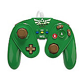Super Smash Bros Wired Fight Pad LINK - NintendoWiiU