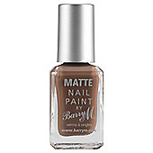 Barry M Matte Nail Paint 5 Mocha 10Ml